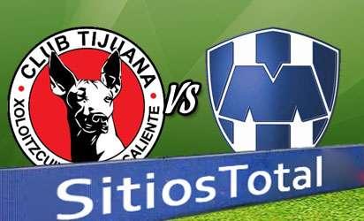 Xolos Tijuana vs Monterrey En Vivo