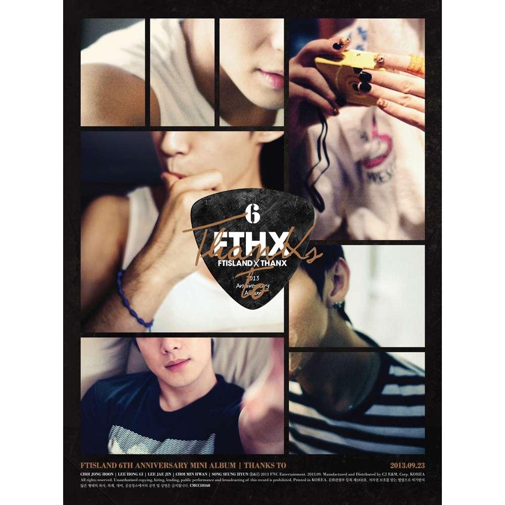[Mini Album] FTISLAND - THANKS TO [6th Anniversary Mini Album]