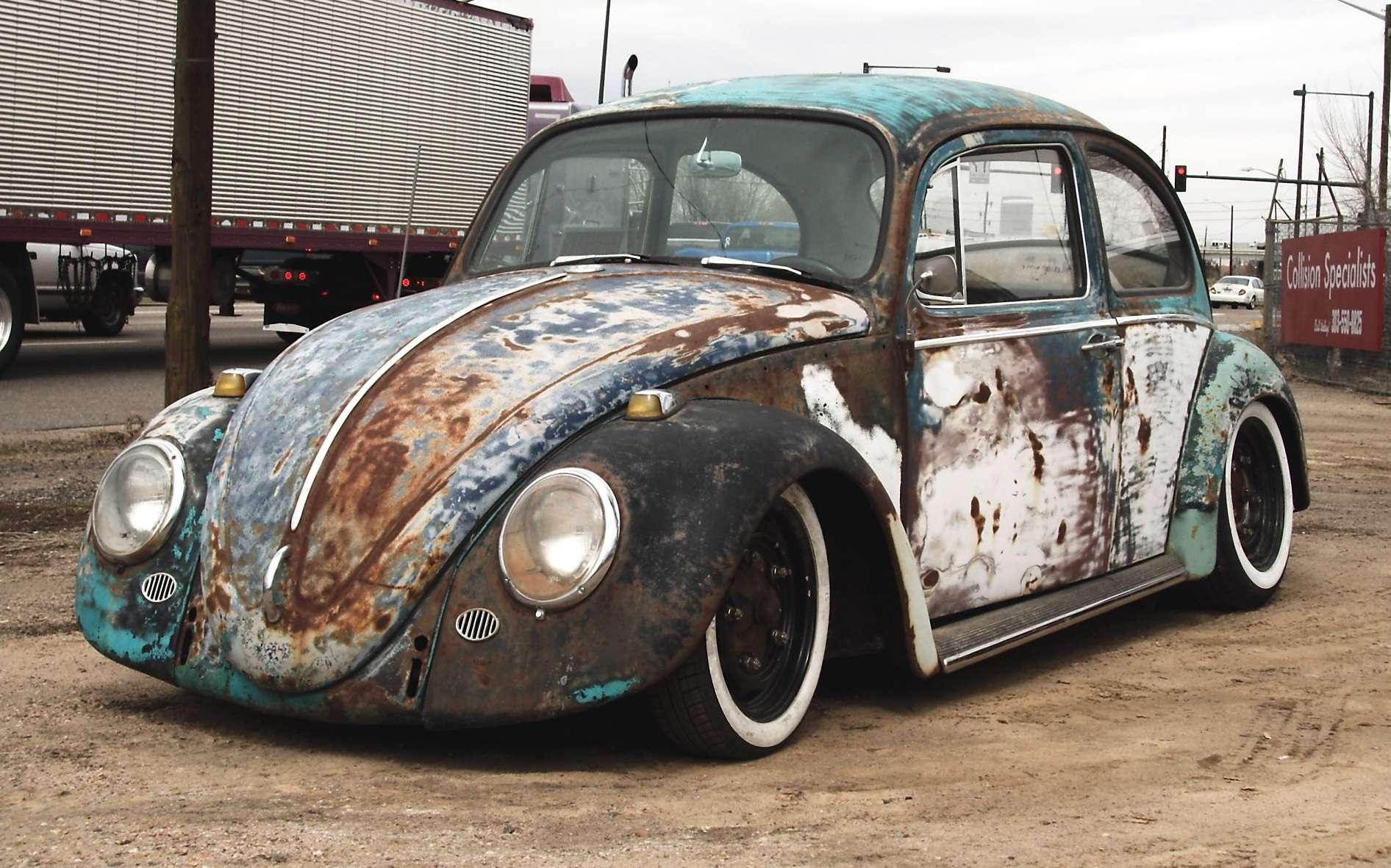 Special cars  Volklswagen Beetle   Bug Rat Look