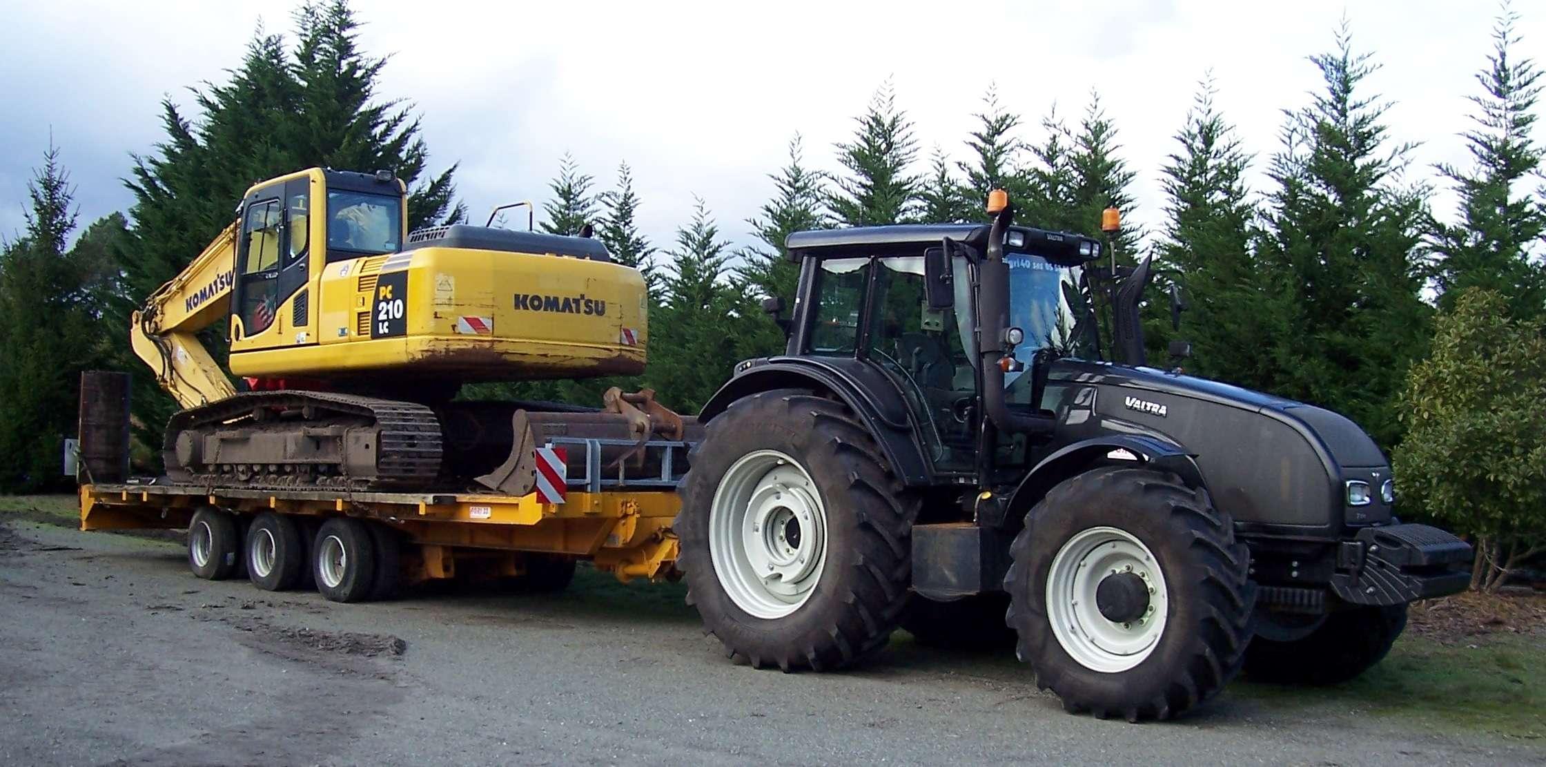 Technique tp porte engins agricoles - Remorque porte engin agricole occasion ...